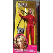 Boneca Britney Spears Live In Concert Oops I Did It Again