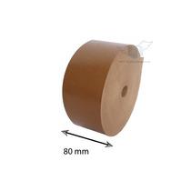 Fita Adesiva Papel Kraft Gomada - Medida 80 Mm - 1 Unidades