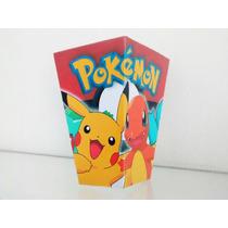 Pokemon-ash Y Pikachu- Cono Para Pochoclos X50 +50 Valijitas
