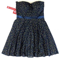 Vestido Azul Marino Liz Minelli Talla M