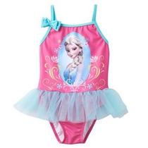 Traje De Baño Niña Disney Frozen Envio Gratis