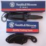 Kit 2 Facas Táticas De Bota / Pescoço Smith & Wesson Hrt