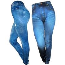 Leggins Tipo Jeans, Tela Gruesa, Pantalon, Jeans, Damas