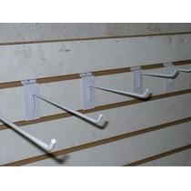Gancho Blister Para Exhibipanel Panel Ranurado 100pzs