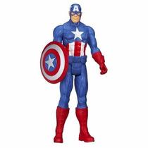 Capitan America Marvel Titan Hero De Hasbro