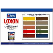 Pintura Loxon Exterior Blanco X 4lts