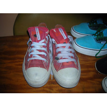 Converse All Star Red And White Usadas Aceptables T39.6 Usa