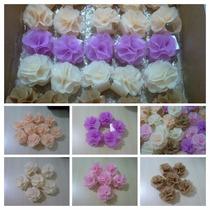 Porta Guardanapo Flor Tecido Casamento Festas Eventos Noivas