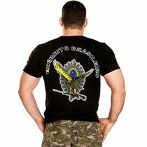 Camiseta Bordada Exército Brasileiro