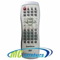 Controle Remoto Para Dvd Gradiente D-201 / Gbd-120 Original