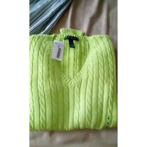 Sweater Polo De Mujer Talla M