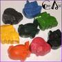 Crayones - Souvenirs - Avión Barco Auto Tren - Pack X 48
