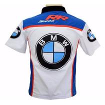 Camisetas Camisas Masculina Gola Polo Moto Bmw Srr1000