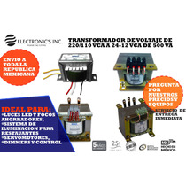 Transformador Elevador De Voltaje De 110 A 220 Vca De 10kw