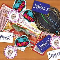Etiquetas Autoadhesivas, Stickers Calcomanias Personalizadas