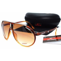 Oculos De Sol Unisex Carrera Champion + Case Personalizado