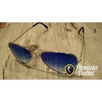 Óculos Feminino Aviador Estilo Ray-ban