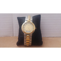 Reloj Lobor Collection Chapado En Oro De Cuarzo