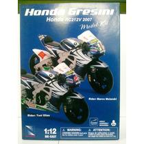 Moto Kit Escala 1/12 Alto Detalle Honda Gresini New Ray