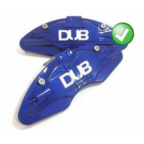 Capa Pinça Freio Par Azul Tipo Brembo Carro Aro 14 Até 26