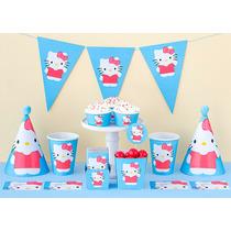 Cumpleaños Hello Kitty Kit Deco Impresión Y Recorte
