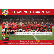 Poster Flamengo Campeão 2013 Alta Qualidade 90x60