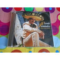 Vicente Fernandez Cd Y Sus Canciones 1996