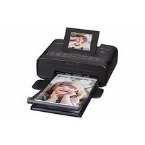Mini Impressora Fotográfica Canon Preta Cp1200 10x15 3x4