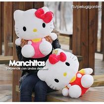 Peluche De Hello Kitty Grande Como De 80 Cm