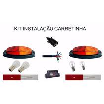 Kit Instalaçao Engate Carretinha Reboque Reforçado