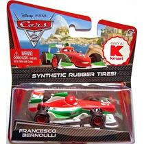Disney Cars 2 Francesco Bernoulli Pneus De Borracha Mattel