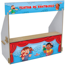 Teatro De Fantoches De Mesa Facile , Representação, Diversão