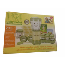 Magic Baby Bullet Papillas Para Bebe