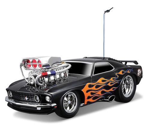 Tb maisto r c 1 18 scale muscle machines garage 1969 ford for Garage jm auto audincourt