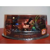 Wreck It Ralph Demoledor No Vanellope Set Figuras Pvc