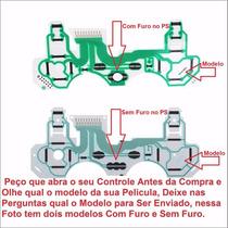10 Pelicula Placa Condutiva Controle Ps3 Escolha Seu Modelo