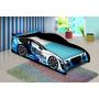 Cama Carro Drift Solteiro Azul - 93 X 200 Cm