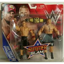 Wwe Mattel Battle Pack Brock Lesnar & John Cena