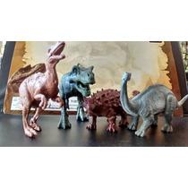 Kit Jurassic Park 4 Dinossauros Jurassic World T-rex