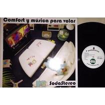 Soda Stereo Comfort Y Musica Para Volar Lp Acetato Vinilo