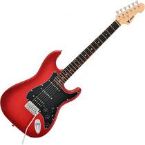 Guitarra Stratocaster Humbucker Phoenix Power Vermelha