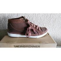 Weinbrenner Zapato Unisex Nuevo Cuero