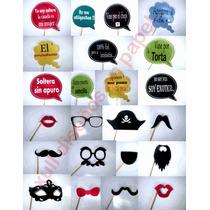 50 Props Photo-pack De 15/ Casamientos-cumpleaños-eventos.