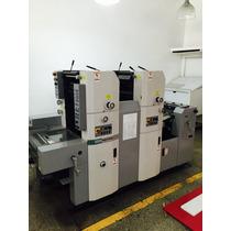 Maquina Imprenta Hamada 2 Colores 2008
