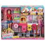 Brinquedo Boneca Barbie Pizzaria Original Mattel Cgf37