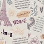 Papel Parede Adesivo Teens Paris Roses