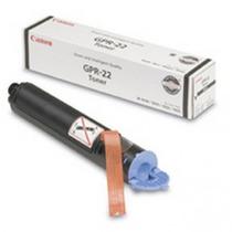 Cartucho Tóner Canon Gpr-22 - Negro, Laser, Negro, Color Bl