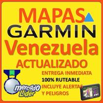 Mapa Garmin Venezuela Con Poi Actualizado 2016