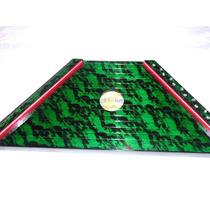 Cítara Mini Harpa Verde Nova Novo Designer Verde/vermelho