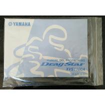 Manual De Usuario Yamaha Drag Star Xvs 1100